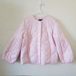 Banana Republic Pink Light Weight Puffer Jacket